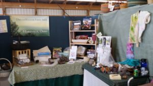 Great Lakes Fiber Show - DreamWeaver Fiber Booth