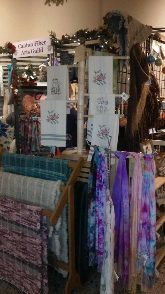 Christkindl Markt Canton Fiber Arts Guild Nov 2018